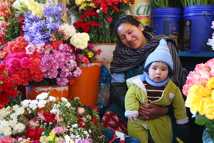 クスコ サンペドロ市場 ペルー
