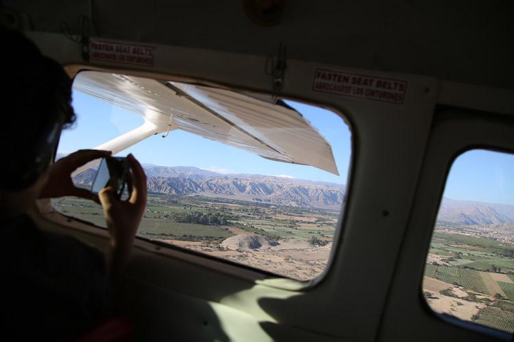 ナスカの地上絵 セスナ ツアー ペルー