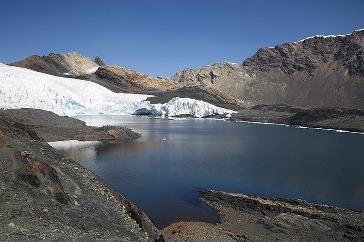 パストルリ氷河 ワスカラン国立公園 ワラス ツアー