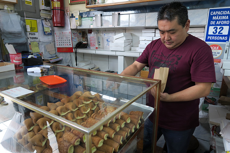 中華街 和菓子 リマ お店