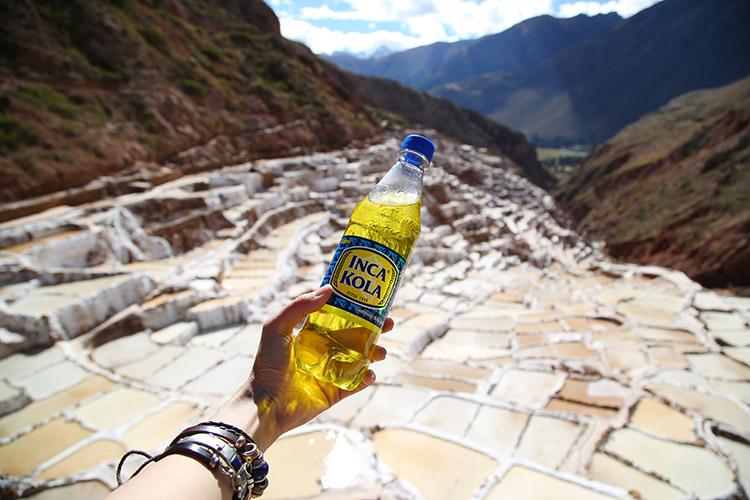 インカコーラ ペルー クスコ