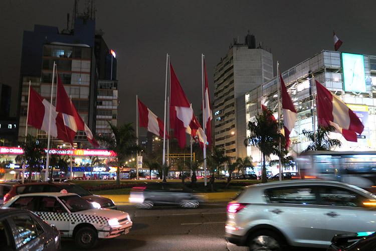 リマ ミラフローレス地区