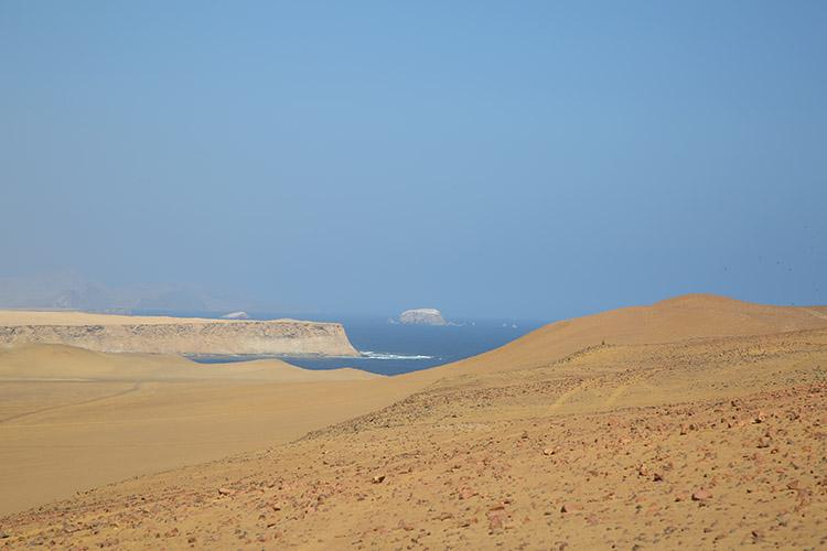 パラカス ツアー 砂漠 レッドビーチ 国立公園