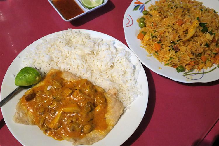 パラカス レストラン ご飯 ペルー