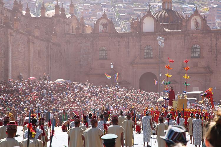 インティライミ クスコ お祭り ペルー