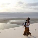 真っ白の砂漠