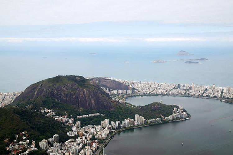 リオデジャネイロ キリスト コルコバードの丘