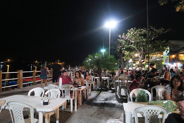 ブラジル バヘイリーニャス レストラン