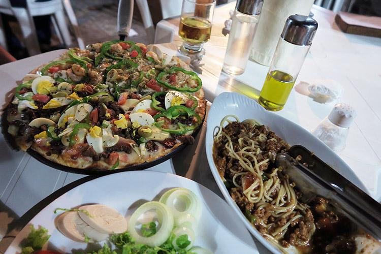 バヘイリーニャス レストラン