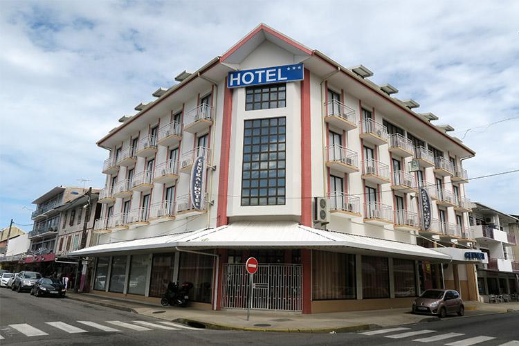 フランス領ギアナ カイエンヌ ホテル
