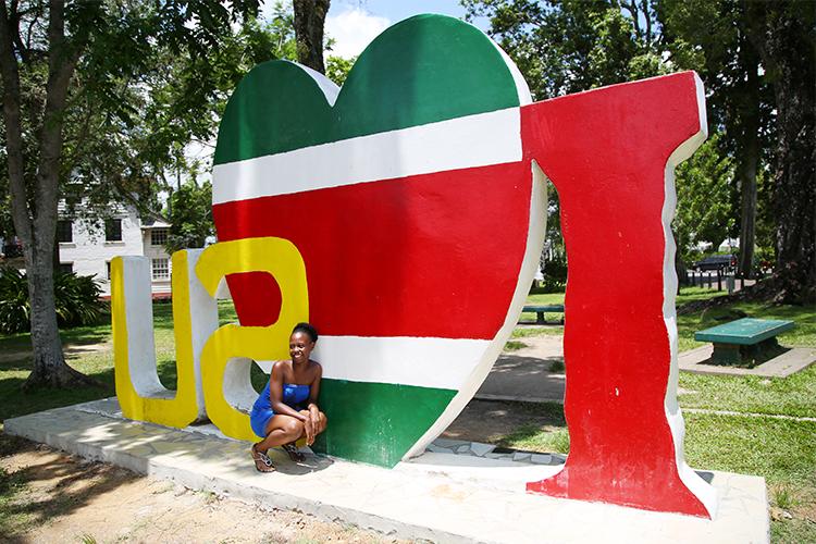 パラマリボ スリナム 観光