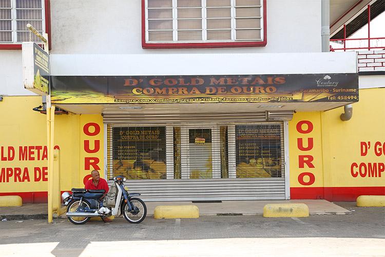 スリナム パラマリボ ブラジル人街
