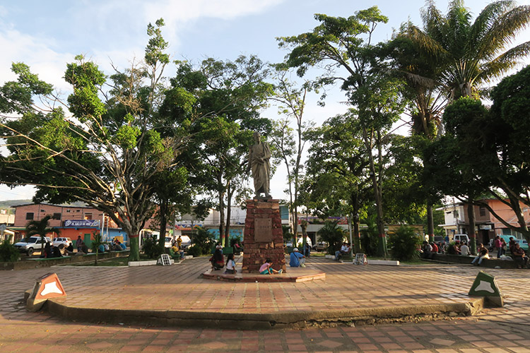 サンタエレナ ベネズエラ 町歩き