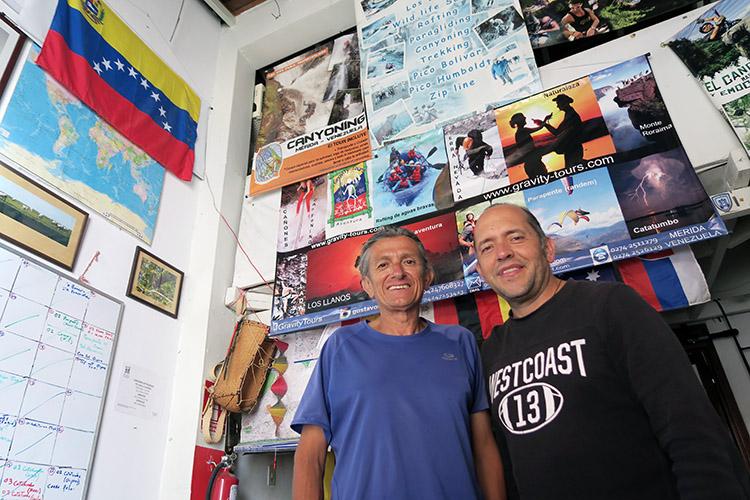 メリダ パラグライダー ベネズエラ