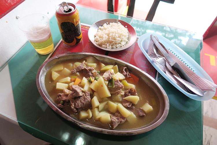 ボゴタ 観光 町歩き 食事