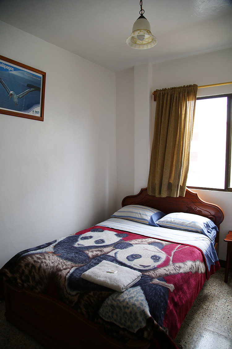 サンタ・クルス島 プエルト・アヨラ おすすめ 宿 ホステル