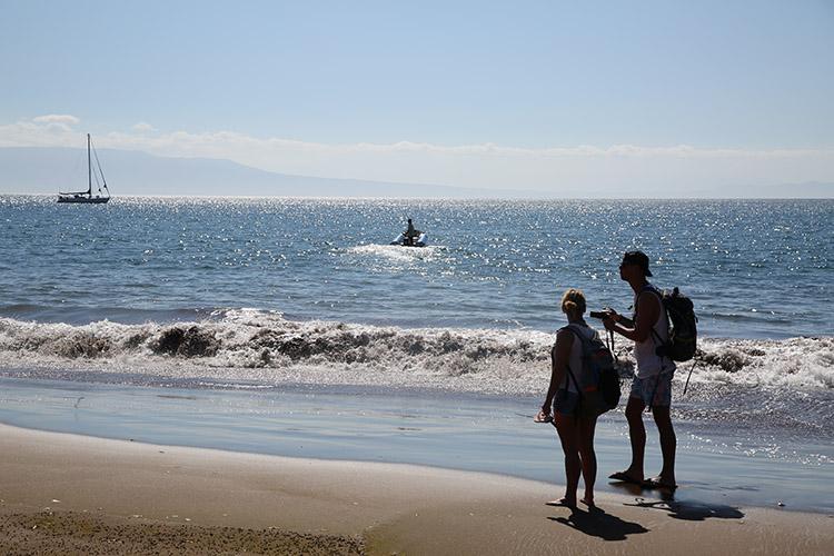 ガラパゴス諸島 ツアー サンティアゴ島 Puerto Espumilla