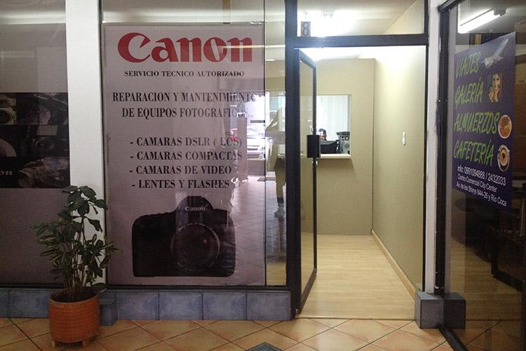 CANON キト エクアドル 修理