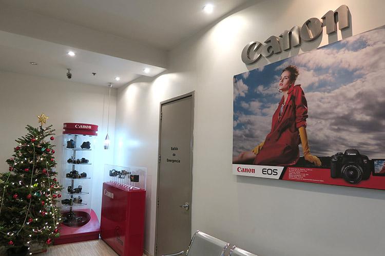 CANON メキシコシティ 直営店
