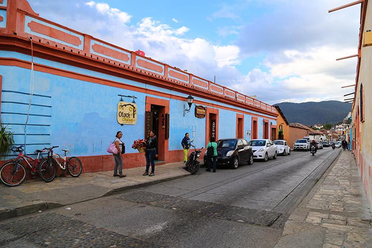メキシコ サンクリ 町歩き 観光