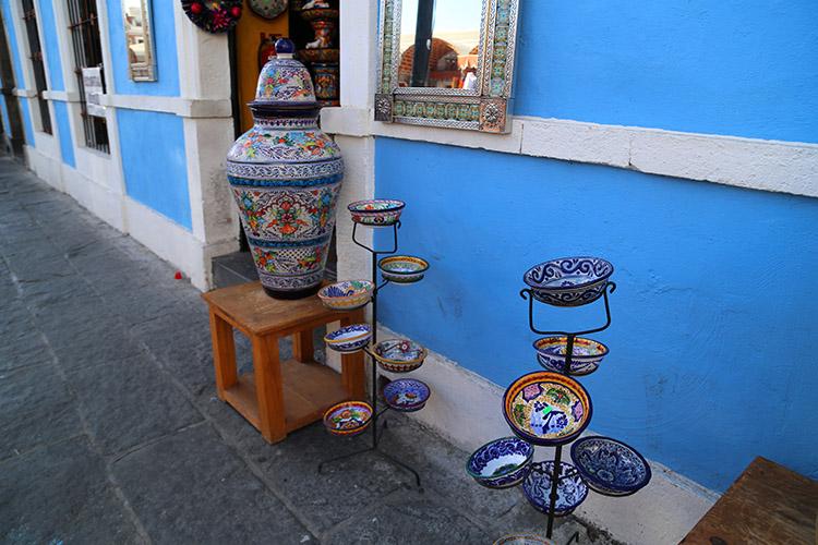 プエブラ タラベラ焼き メキシコ