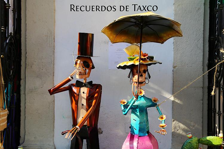 メキシコ タスコ 町歩き 観光
