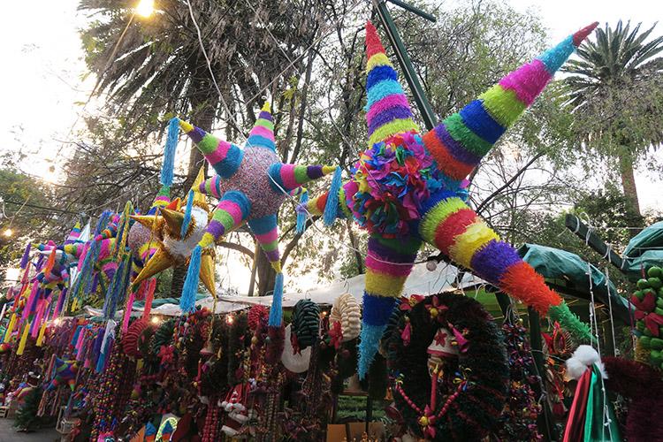 メキシコシティ 新市街 クリスマス
