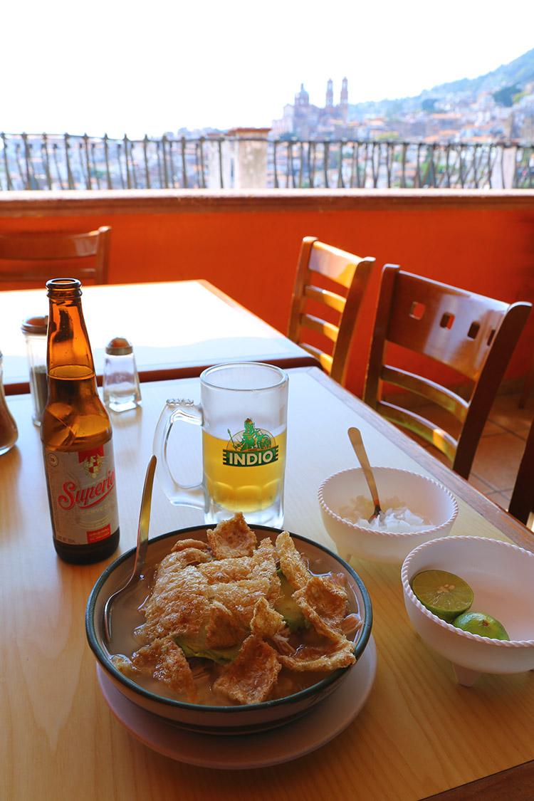 タスコ メキシコ おすすめ ミラドール レストラン
