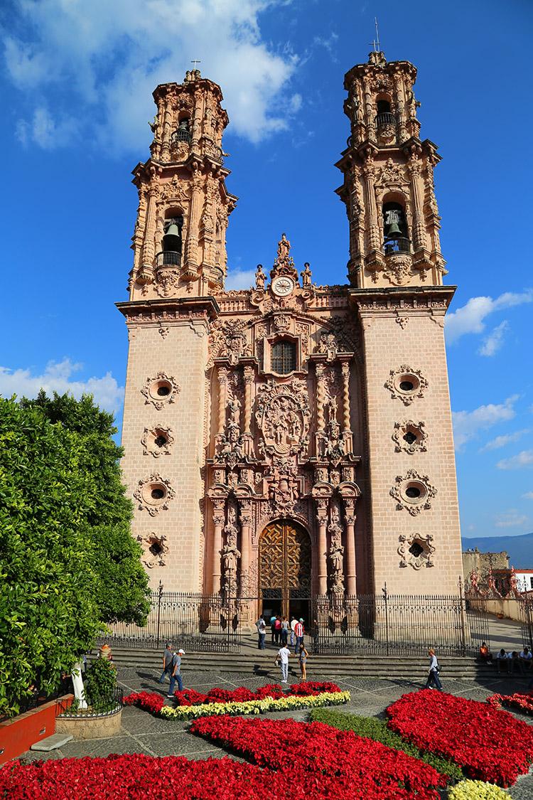 タスコ メキシコ サンタプリスカ教会