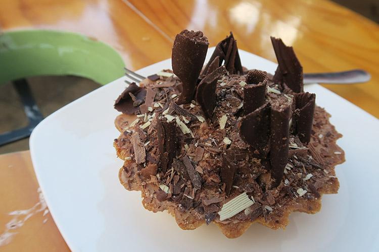 サンクリ 食事 チョコレート