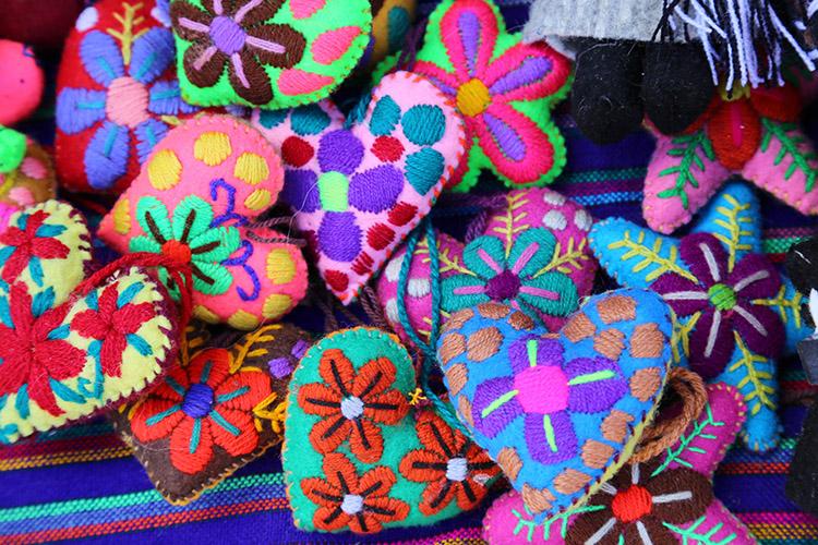 サンフアン・チャムラ 民芸品 買い物 ショッピング
