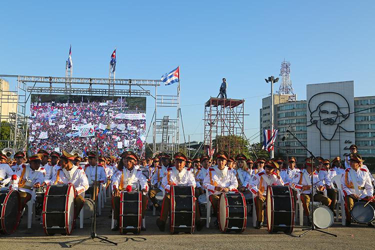 キューバ革命 革命広場 ハバナ