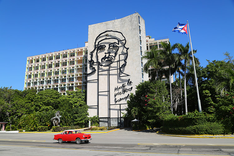 チェ・ゲバラ 革命広場 キューバ ハバナ