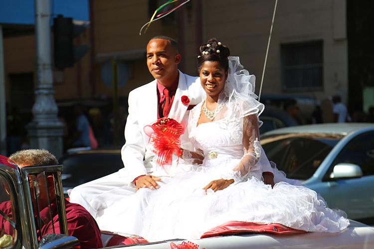 キューバ ハバナ 結婚式