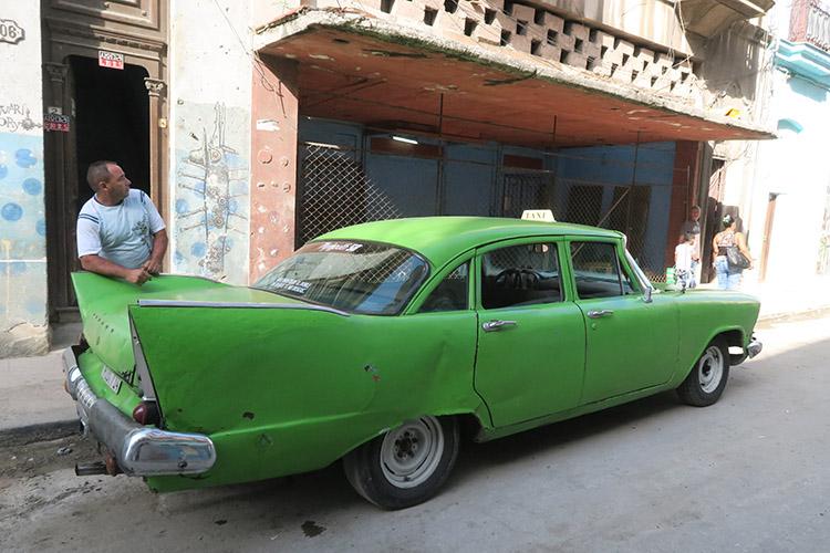 ハバナ クラシックカー タクシー