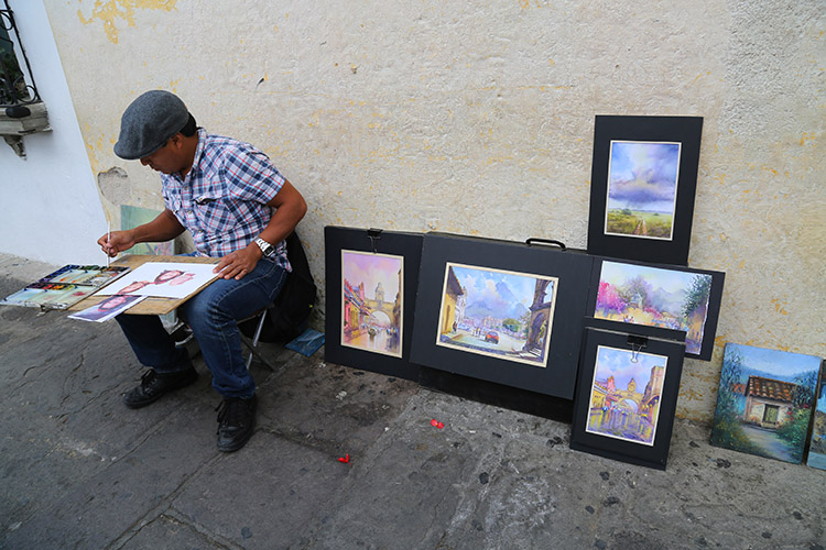 アンティグア グアテマラ 街並
