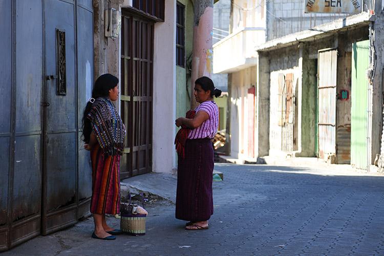 サンティアゴ・アティトラン グアテマラ