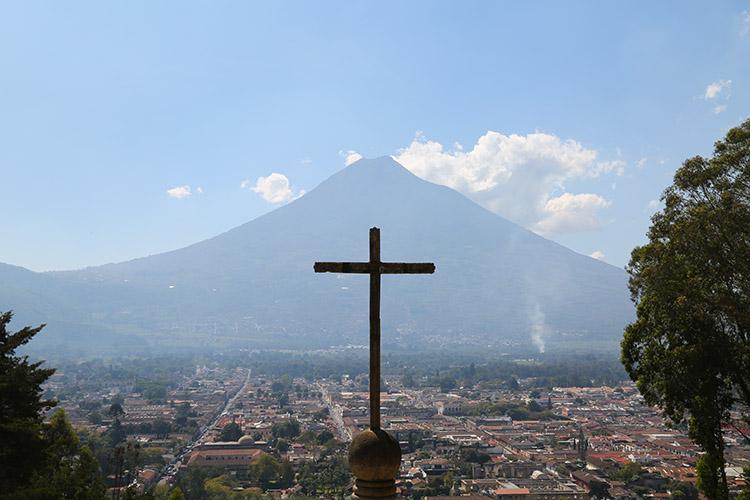 アンティグア 十字架の丘 景色