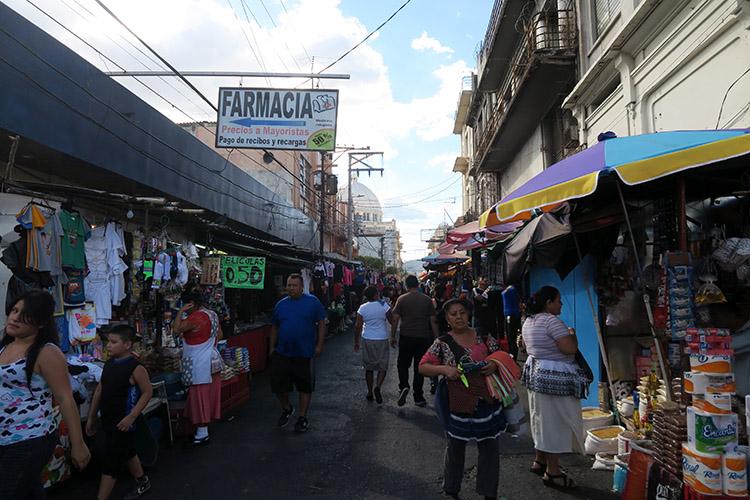 サンサルバドル 町歩き