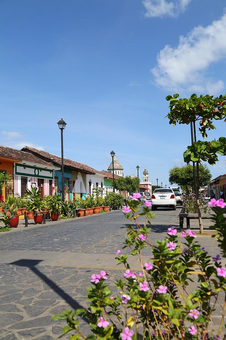 ニカラグア グラナダ 町歩き