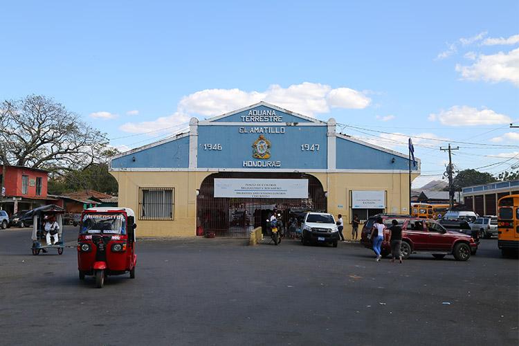 エルサルバドル ホンデュラス 国境