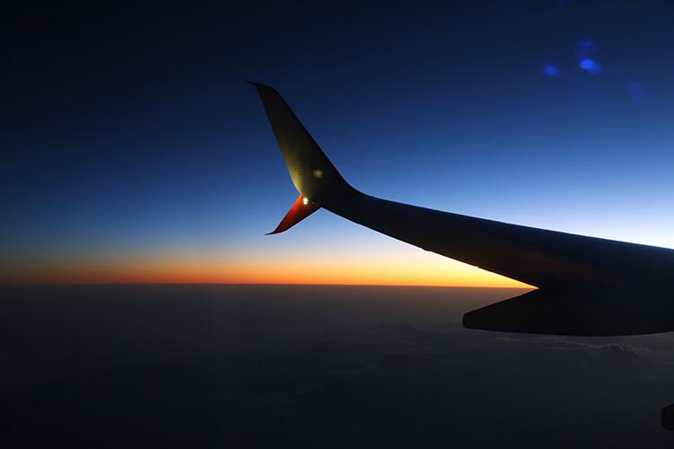 サンアンドレス島 ボゴタ 飛行機