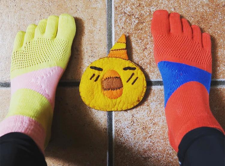 スペイン巡礼 靴下 5本指ソックス
