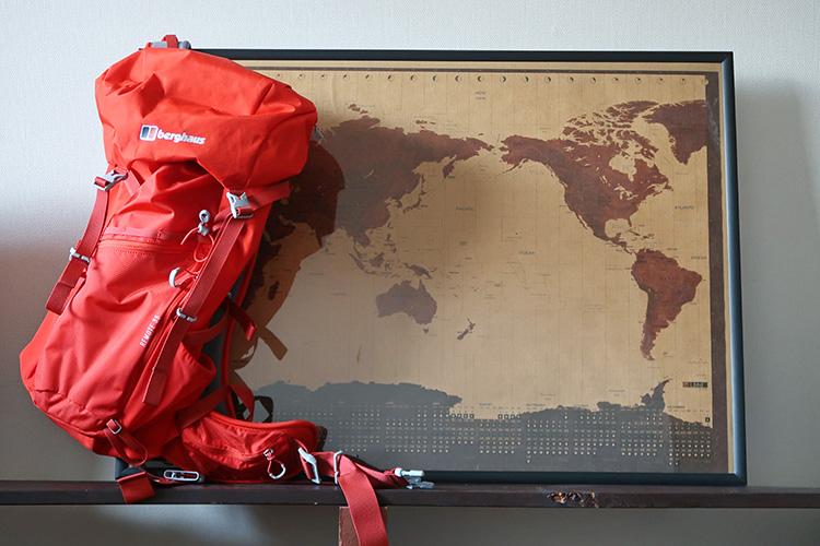 世界一周 スペイン巡礼 バックパック