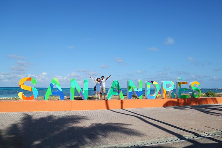 サンアンドレス島 カリブ海 離島
