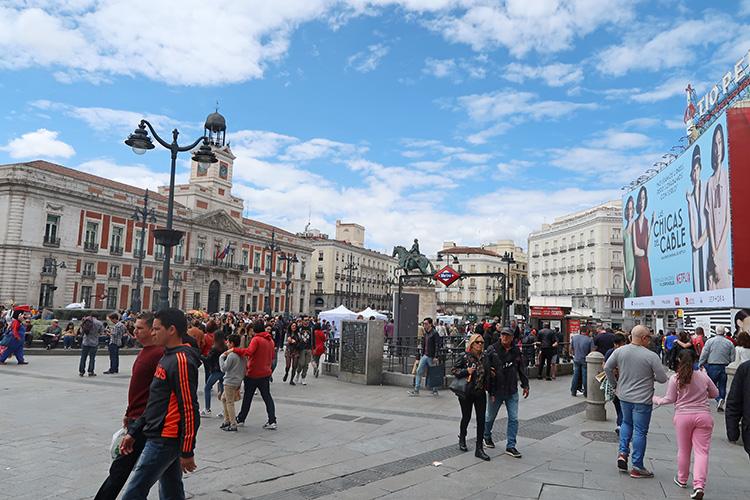 マドリード 町歩き 観光