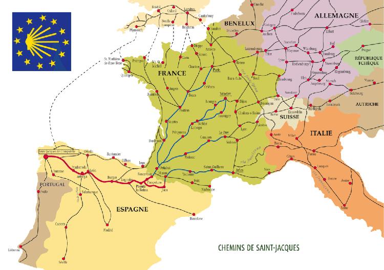 カミーノ 地図 camino map