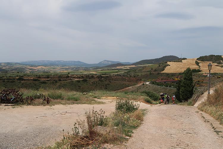 カミーノの景色 スペイン巡礼