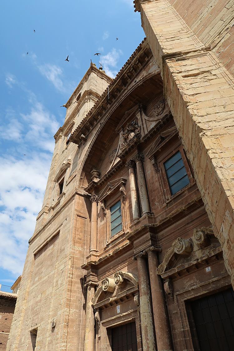 カミーノブログ スペイン巡礼 ナバレッテ 教会
