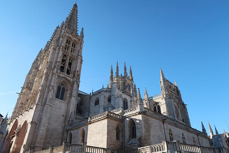 カミーノ スペイン巡礼ブログ ブルゴス大聖堂